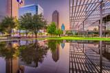 Dallas, Texas Cityscape and Plaza - 207635423