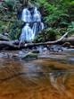 Wasserfall im Wald - Schweden - 207640041