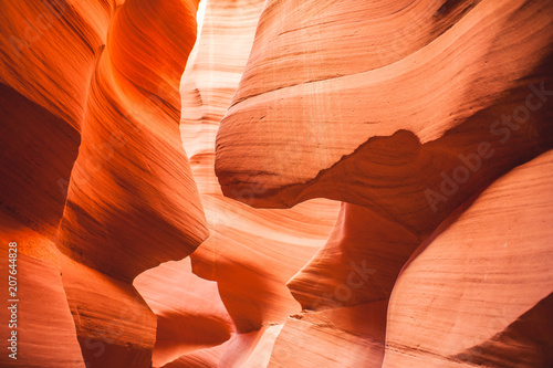 Fotobehang Arizona Red rock at Antelope Canyon