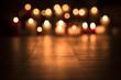 Leinwanddruck Bild - Lit candles burning in the Church