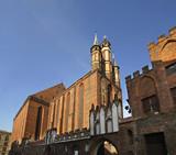 Church of Blessed Virgin Mary in Torun.  Poland - 207671810