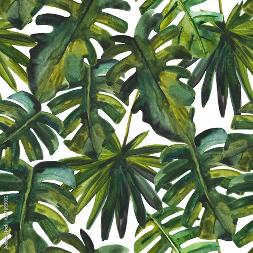 Hand painted illustration for summer design, natural background - 207693032