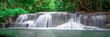 Beautiful  waterfall panoramic landscape in Thailand