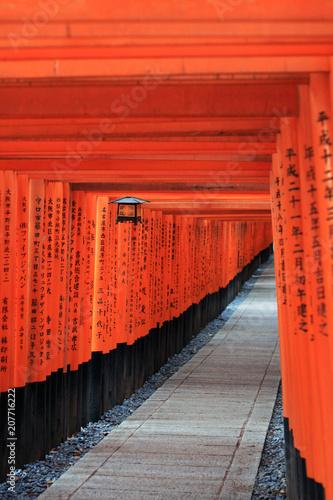 Fotobehang Kyoto Fushimi Inari-taisha Kyoto Japan