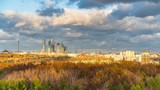 Timelapse of Moscow city at autumn day - 207719602