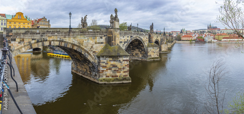 Foto Murales Charles Bridge, Prague, Czech Republic