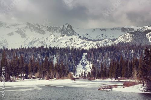 Fotobehang Galyna A. Sierra Nevada