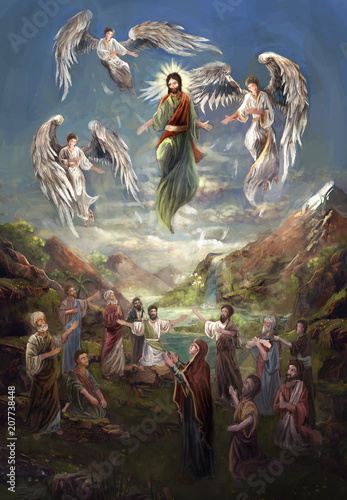 Ascension of Jesus Chris © vukkostic