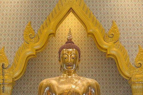 Aluminium Boeddha Wat Traimit, Temple of golden Buddha, Bangkok, Thailand