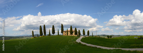 Canvas Toscane I Cipressini Toscana Toskana