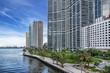 Miami circle in Brickell Miami Florida