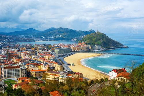 San Sebastian - Donostia city, Basque country, Spain