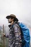 Hiker in Machu Picchu, Peru - 207787446