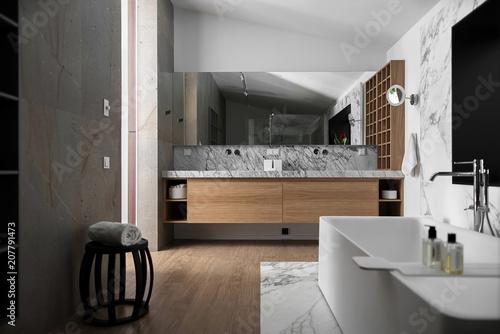 Stylowa nowoczesna łazienka