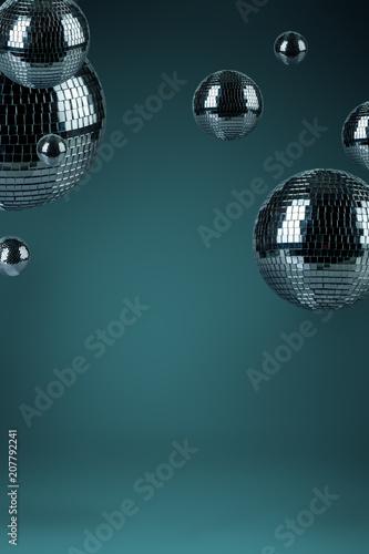 Disco balls background - 207792241