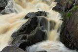 Ahvenkoski waterfall on the Tohmajoki river