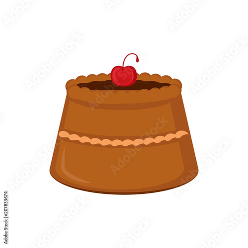 Isolated sweet dessert icon
