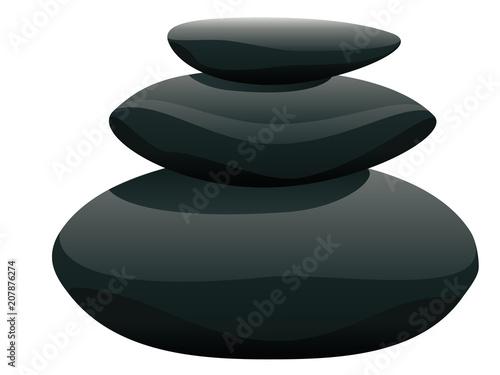 Sticker Pile of pebble