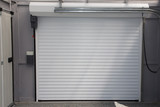 Automatic Electric Roll-up Commercial Garage Gate Push up Door In Modern Building house - 207878867
