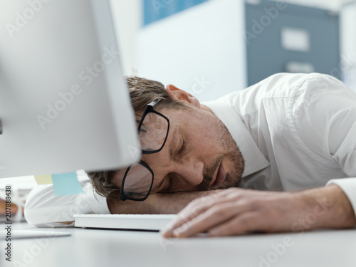 Image result for executives sleeping at desk