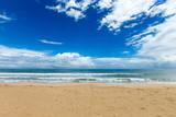 Sea view from tropical beach with sunny sky. Summer paradise beach - 207891672