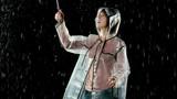 Beautiful woman dancing in the rain. Slow Motion. - 207904613