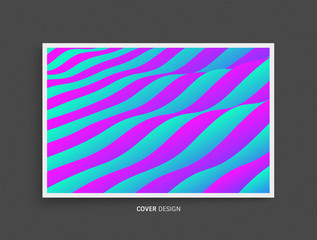Pattern with optical illusion. Abstract background. Vector illustration. © Login