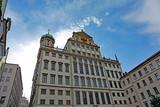 Rathaus Augsburg von hinten