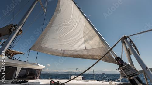 Aluminium Zeilen żeglarstwo chorwacja jacht