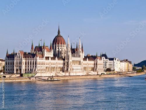 Fotobehang Boedapest Hungarian Parliament