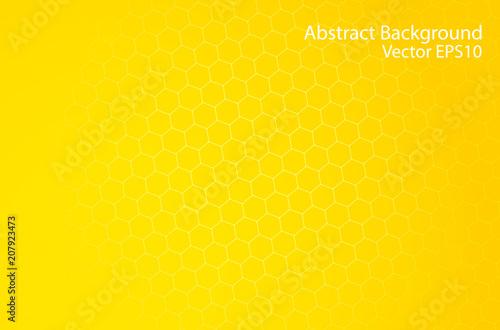 Fotobehang Abstractie Art Honeycomb abstract vector background