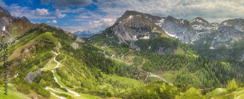 Leinwanddruck Bild Jenner mountain near Konigssee lake, Berchtesgaden