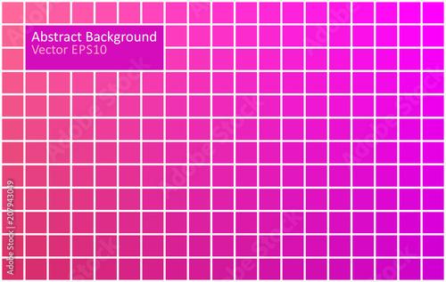 Fotobehang Abstractie Art Red and Purple tiles background