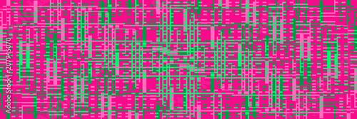 фон яркий розовый с зелеными полосками © lnchc
