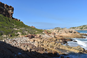 Wonderful landscape at the hiking trail at Robberg Nature Reserve in Plettenberg Bay, South Africa © places-4-you