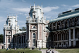 The famous Museum of the Reserve and the park Tsaritsyno. Moscow. Russia - 207964623