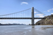 The Jersey Side / The George Washington Bridge from Fort Lee Hudson Park in New Jersey
