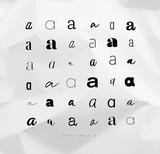 Set symbol a for letters - 207976221