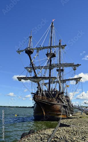 Fotobehang Schip Tall ship