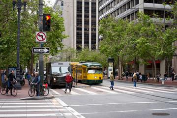 Historic Center of San Francisco, USA