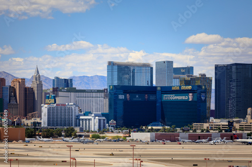 Canvas Las Vegas Vegas Strip, 3.8 mile stretch featured with world class hotels and casino in Las Vegas, Nevada