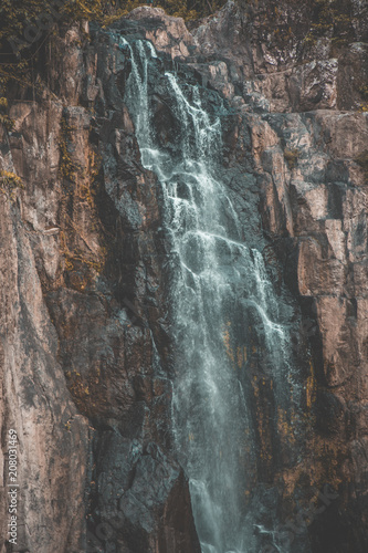 Waterfall in Khao Yai National Park, Thailand - 208031469