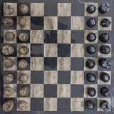 A Beautiful MarbleChess Board from Above