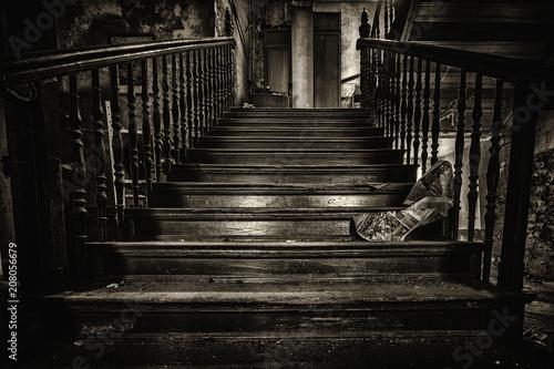 Fotobehang Berlijn das Schweigen der Treppe