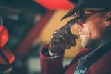 Portrait of the Cowboy - 208057621