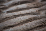 Wet sand background macro with soft focus - 208069815