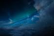 Sternenstaub Wolken Himmel Nacht