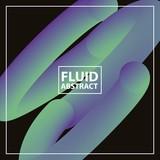 fluid abstract background dark spiral circles vector illustration - 208087821