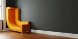 Kleinen Raum platzsparend einrichten mit Sofa an Wand - 208092835