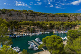 Calanque de Port Miou - fjord near Cassis France - 208107480